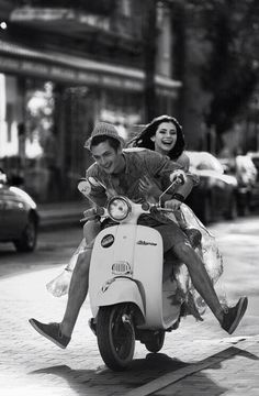 #laugh #couple #motorcycling