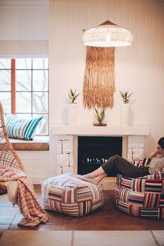 Our classic beanbags! Handwoven & buttery soft, taking lounging to a whole new level. ⠀⠀  A S H A N T I D E S I G N sales@ashantidesign.com 77 Kloof street, Cape Town, South Africa - ashantidesign.com - Bean Bag, Hand Weaving, Beans, Comfy, Classic, Furniture, Design, Home Decor, Derby
