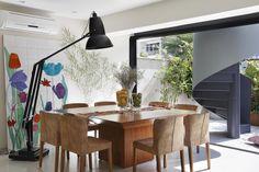 Sala de jantar decorada por Escala Arquitetura.