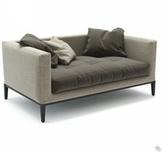 Maxalto Simpliciter Products Minima Contemporary Sofa Modern Cozy Furniture