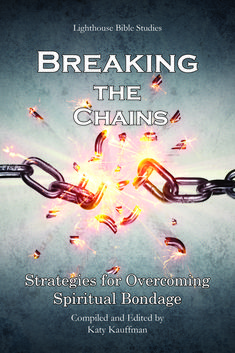 """Breaking the Chains"" compiled by Katy Kauffman - Does your soul long to be free? Just like God's people in the Old Testament longed for freedom from captivity and oppression, God's children today long to be free from spiritual bondage. Powerful enemies such as fear, anxiety, anger, and loneliness war against our souls, but Christ empowers us to break their chains. Freedom doesn't have to be a distant dream. It can be our reality."
