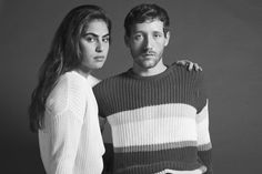 The Unisex Fisherman's Pullover by #AmericanApparel.  #knits #sweaters #aamodels #Anitra #Arnault #Fisherman'sPullover