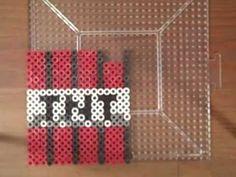 Perler Bead Tutorial: Minecraft - TNT