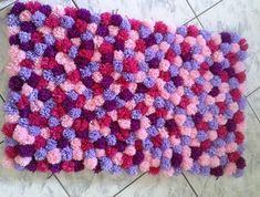 Tapete Com Pompom De Lã (6)
