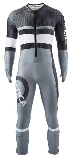 Arctica Racer GS Speed Suit Charcoal. High quality. Good looking. FIS approved $300 adult/$250 youth.