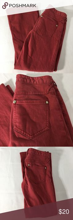 Selling this Free People Red Wash Jeans - Size W 26 on Poshmark! My username is: moody_writer. #shopmycloset #poshmark #fashion #shopping #style #forsale #Free People #Denim