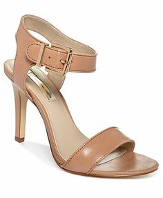 INC International Concepts Women's Jemiah Sandals Just got on sale for $48 with 30% off! bought in this nude color-goes well with my crop jeans!! very minimal and does not make a loud heel noise! love these-wide foot go up half a size