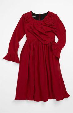 3f9e117f59 Isobella   Chloe  Darlene  Knit Dress (Little Girls)