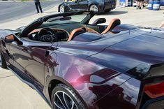 2017 Corvette Grand Sport in Black Rose Metallic - taken at the National Corvette Museum Annual Bash on April 28, 2016.