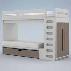 Alex Bunk Bed System in Choice of Color from PoshTots