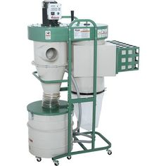 1-1/2 HP Dual-Filtration HEPA Cyclone Dust Collector   Grizzly Industrial Shop Dust Collection, Dust Collector, Hepa Filter, Are You The One, The Unit, Cleaning, Industrial, Power Tools, Carpentry