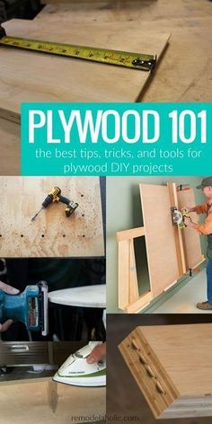 Plywood 101 // The BEST #plywood tips, tricks, and tools @Remodelaholic