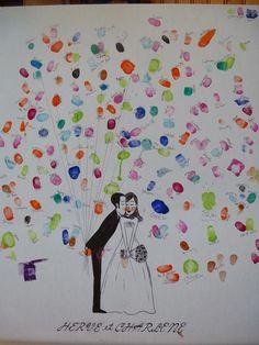 arbre à empreintes ballons