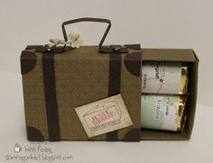 Stampin' Up!  Matchbox  Lorri Heiling  Cutest matchbox Ever! by lorrie