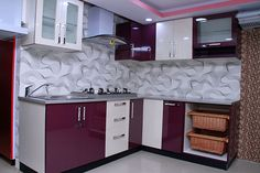 Latest Kitchen Designs | Sliding Wardrobe Designs | TV wall Unit Designs | Kitchen Interior Design- Dream Space Modular Designers.