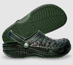 Crocskin Crocs :)