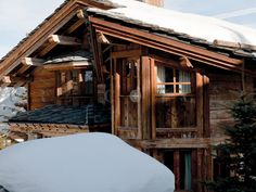 Eric Arnoux Geneve presents Chalet Carat, a beautiful property located in the peaceful area of Megeve, France. Spoil yourself in this luxurious place by taking advantage of the latest technologies in comfort and home design. Find more about Eric Arnoux Geneve and the luxurious properties on EricArnoux.net Ski Chalet, Presents, House Design, Cabin, France, Luxury, House Styles, Places, Beautiful
