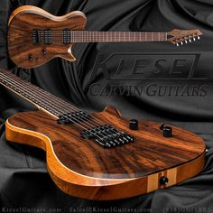 Kiesel/Carvin custom guitars