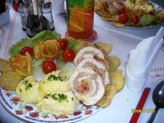 Recept - Plnená kuracia roláda Meat, Chicken, Food, New Years Eve, Essen, Meals, Yemek, Eten, Cubs