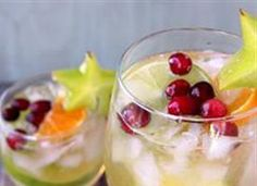 20 Non-Alcoholic Party Drinks Freeze grapes and berries for a super pretty and delicious way to keep cold drinks cold!