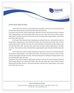 Business company letterhead template free small medium and large business letterhead template wordairplane letterhead template layout for microsoft word adobe ifnddtcn spiritdancerdesigns Choice Image