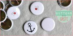 Buttons für Gäste