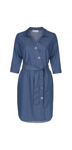 Sukienki codzienne - Kolekcja jesienna || Modne sukienki - ModernLine Shirt Dress, Shirts, Dresses, Fashion, Vestidos, Moda, Shirtdress, Fashion Styles, Dress