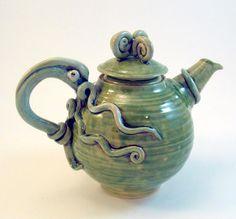 Teapot - Squid Octopus