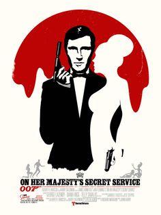On Her Majesty's Secret Service (2012) by New Flesh Prints.