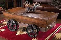 Very Cool If We Could Find One ~ Mining Cart Coffee Table