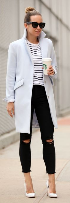 Pastel Topper Outfit Idea by Brooklyn Blonde