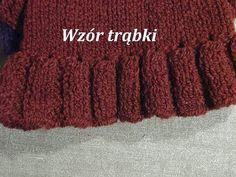 Robótki na drutach *Wzory na drutach* Wzór trąbki - YouTube