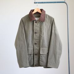 YAECA - Landcloth Field Jacket #olive