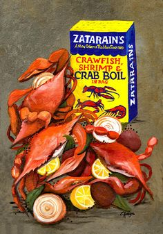 Louisiana Boiled Crabs (Elaine Hodges)
