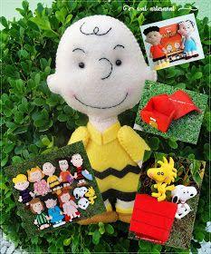 Wal Artesanal: Molde Artesanal Digital - Combo Turma do Snoopy