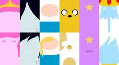 Main Characters - Adventure Time (Wallpaper) by Qhyperdunk24.deviantart.com on @deviantART