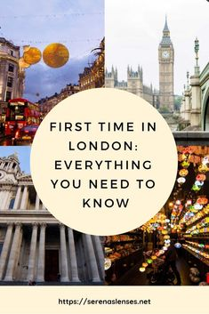 First Time in London: How To Plan Your First Trip to London Travel tips 2019 - Travel Photo Places To Travel, Travel Destinations, Places To Visit, Things To Do In London, Must See In London, One Day In London, England And Scotland, London Travel, London England Travel