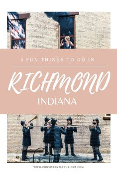 Things To Do In Richmond Indiana  With a trail for everything from murals, chocolate to wine there is something for everyone in Richmond, IN  #richmondin #indiana #richmond #getawayideas #vacationideas