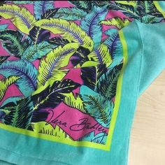 Vera Bradley Palm fronds beach towel This is a brand new with tags Vera Bradley Palm fronds beach towel Vera Bradley Accessories