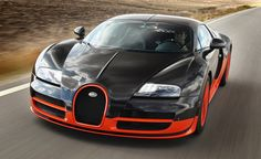 #Bugatti #Veyron Super Sport