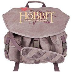 The Hobbit - Logo Messenger Bag One Size Brown