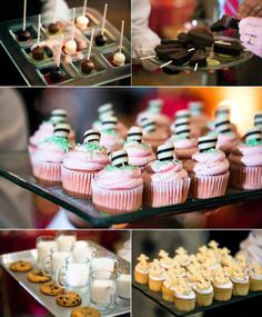 Yummy weddings dessert treats!