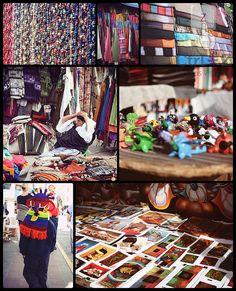 Mercado de Ponchos - Otavalo, via Flickr. #Ecuador