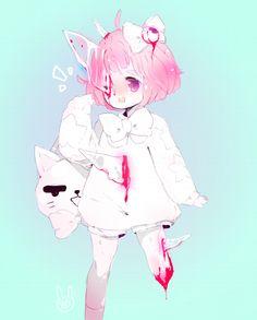 ghost girl for bunnily