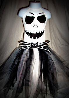 Jack Skellington tutu dress