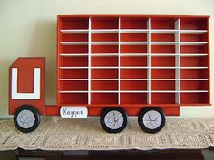 Great storage idea for Matchbox Cars