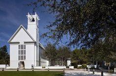 Scott Merrill Named 2016 Richard H. Driehaus Prize Laureate,Seaside Chapel. Image via Merrill, Pastor & Colgan Architects