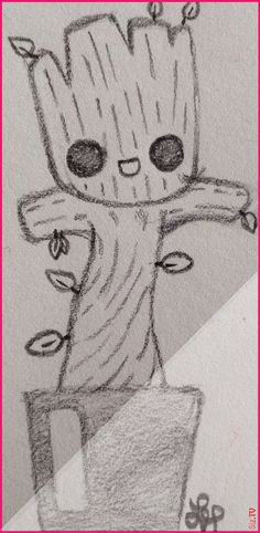 , Baby Groot gardians of the galaxy by Wolf Lyly not the original art galaxy gardi. , Baby Groot gardians of the galaxy by Wolf Lyly not the original art galaxy gardians groot not original art Baby Groot gardians of the galaxy . Easy Drawings Sketches, Cool Art Drawings, Sketchbook Drawings, Pencil Art Drawings, Disney Drawings, Gardians Of The Galaxy, Baby Groot Drawing, Galaxy Painting, Galaxy Art