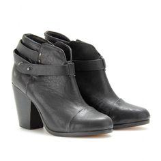 mytheresa.com - Rag & Bone - ANKLE BOOTS HARROW AUS LEDER - Luxury Fashion for Women / Designer clothing, shoes, bags