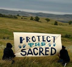 "fuckyeahanarchistbanners: "" Dakota Access Pipeline protest """